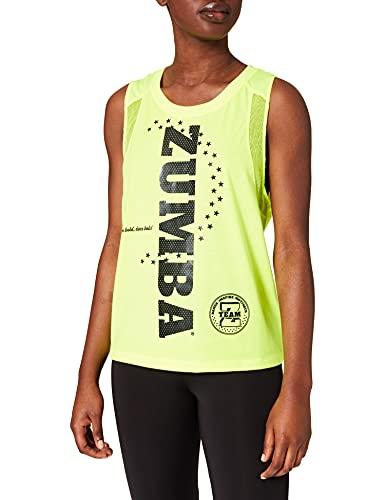 Zumba Dance Atlético Estampado Fitness Camiseta Mujer Sueltas de Entrenamiento Top Deportivo Tank Tops, Star, Medium Womens