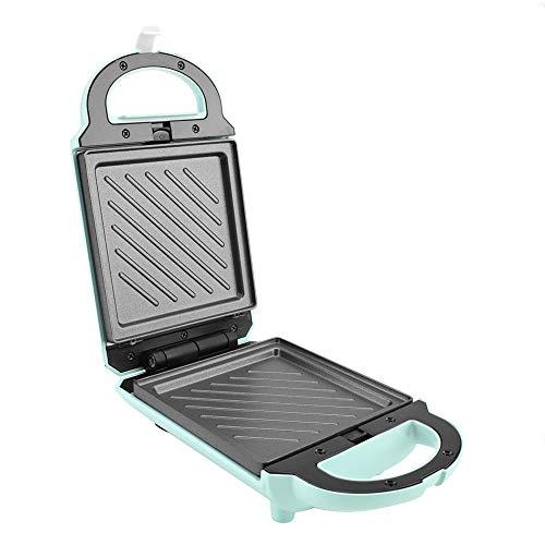 640 W Wendbare Waffelmacher antihaft-Backform Aluminiumlegierung Waffelkegel Maker Frühstück Waffel Omelette Sandwich Maker Kochen Backen Werkzeug grün
