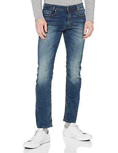 MAC Jeans Herren Jog\'n Jeans, Grau (Blue Grey Authentic Wash H786), W33/L36