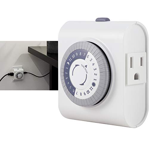 GE 24-Hour Heavy Duty Indoor Plug-in Mechanical Timer