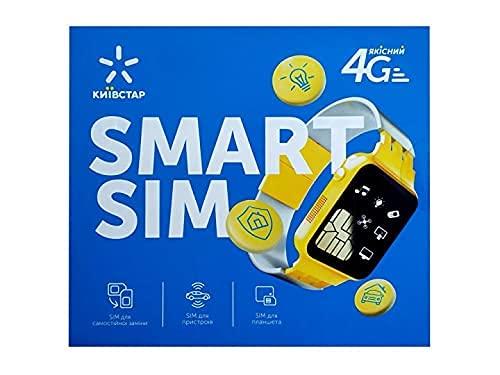 Ukraine Prepaid SIM Card Kyivstar (Data SIM for Ukraine) 20 GB Internet + 300 min for use in Ukraine valid for 30 dauýsFree Nano and Micro SIM