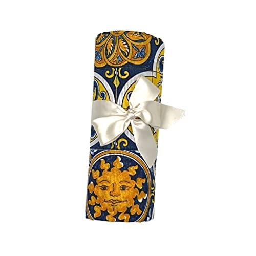 Grattitude® - Telo Arredo Cotone – Copridivano Granfoulard Matrimoniale Tinta Unita – Copriletto Matrimoniale Estivo Cotone- Telo Copritutto – Made In Italy [250x280] (Vietri)