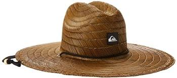 Quiksilver Men s Pierside Straw Hat Dark Brown Small/Medium