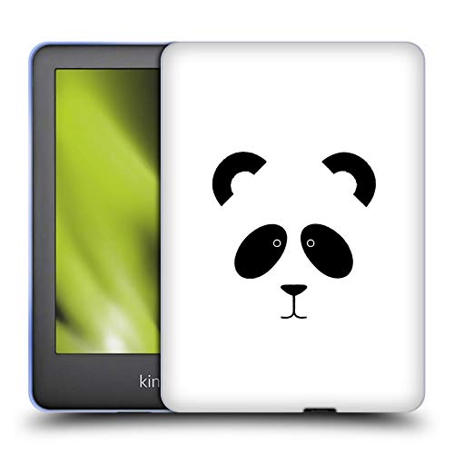 Official The Native State Panda Doodles Soft Gel Case Compatible for Basic Kindle 10th Gen (2019)
