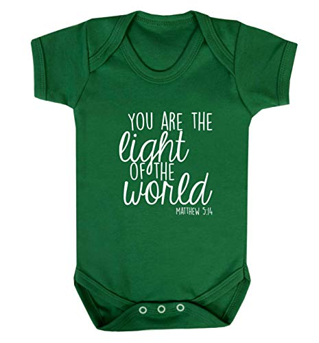 Flox Creative Baby Vest You are The Light of The World - Vert - XS