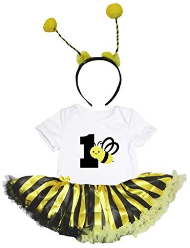 Petitebelle - Robe - Manches courtes - Bébé (fille) 0 à 24 mois Jaune jaune - Jaune - 120