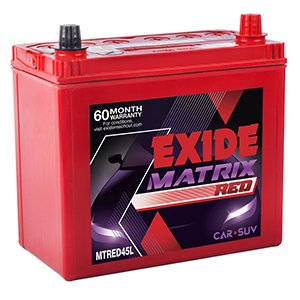 Exide Matrix Mtred 45L 45AH Battery