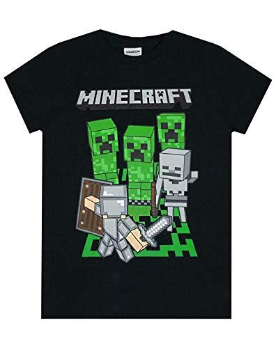 Jungen - Minecraft - Minecraft - T-Shirt (9-10 Jahre)