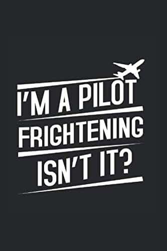 Pilote sans crainte: Cadeau de vol de bloc-notes d'avion