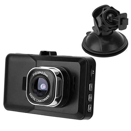 Prinsong 3.0 Pulgadas 1080P Coche 5 MP Cámara con videocámara de Seguridad HDMI 120 ° Gran Angular