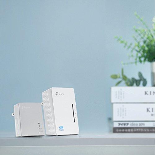 TP-Link AV600 Powerline WiFi Extender - Powerline Adapter with N300 WiFi, Power Saving, Ethernet Over Power(TL-WPA4220 KIT)