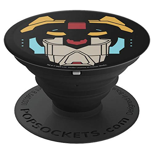 Voltron Defender Of The Universe Black Lion PopSockets Grip and Stand for Phones and Tablets