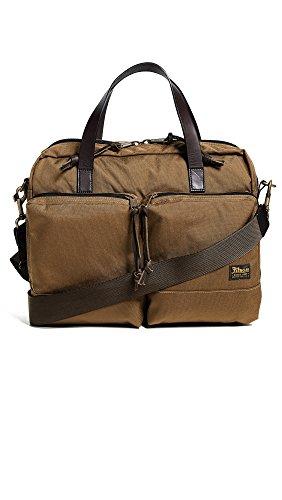 Filson Men's Dryden Briefcase, Whiskey, One Size