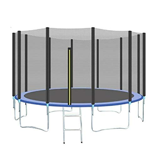heirao4072 Trampoline Replacement Safety Enclosure Net, For 12ft 14ft 15ft Trampoline,Breathable, Tear And Weather-Resistant (Various Sizes, Net Only)