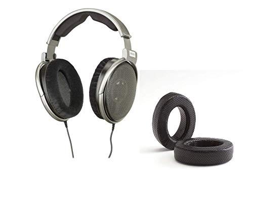 Digital DJ Gear Pacote para fones de ouvido Sennheiser HD650 com Dekoni Audio Elite Fenestrated Almofadas de pele de carneiro