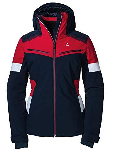 Schöffel Damen Ski Paznaun Jacke, Navy Blazer, 46