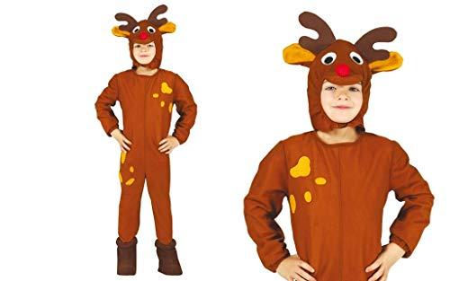 GUIRMA Disfraz de Reno Infantil 3-12 años (a Elegir)