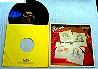 The Rubinoos Back To The Drawing Board - Beserkley Records 1979 - Used Vinyl LP Record - Near Mint Vinyl - DJ Promo - Hold Me - Drivin Music