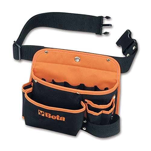 Beta 20050020 Modelo 2005 PA/S Bolsa de herramientas vacía con cinturón, hecho de nylon