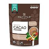 Navitas Organics Cacao Powder, 8oz. Bag, 15 Servings — Organic, Non-GMO, Fair Trade, Gluten-Free