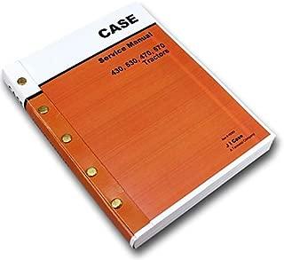 Case 430 530 470 570 Tractor Service Repair Manual Shop Book Overhaul