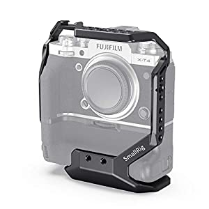 SMALLRIG Cage Compatible for FUJIFILM X-T4 with VG-XT4 Vertical Battery Grip Attached - CCF2810