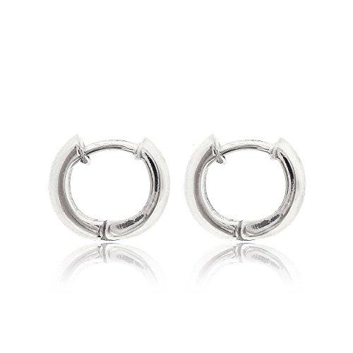 Sovats kleine ronde creoolse oorbel voor vrouwen 925 sterling zilver gerhodineerd - gepolijste creoolse hoepel sleeper oorbellen perfect cadeau voor uw geliefden