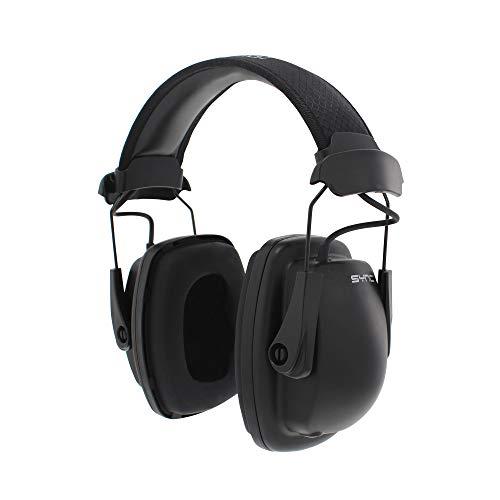 Howard Leight by Honeywell Sync Stereo MP3 Earmuff (1030110), Black