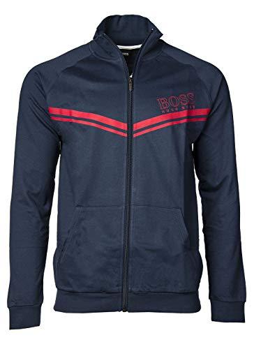 BOSS Herren Authentic Jacket Z Sweatshirt, Dark Blue402, M