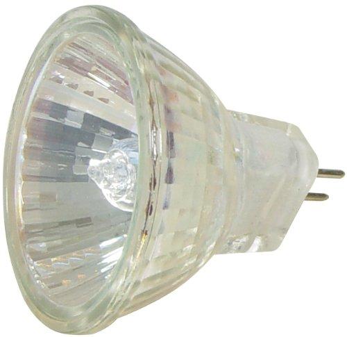 Transmedia LH6-10L - Lampada alogena con specchio dicroico 12 V 10 W GU4, luce calda