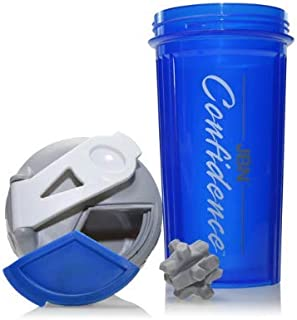 Confidence Sports Nutrition Shaker Bottle - 20 oz capacity - BPA Free - Dishwasher Safe - Great for Mixing Pre-Workouts or...