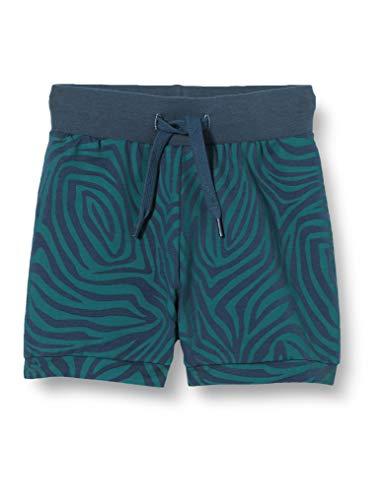 Fred's World by Green Cotton Baby-Jungen Safari Shorts, Blau (Midnight 019411006), (Herstellergröße: 92)