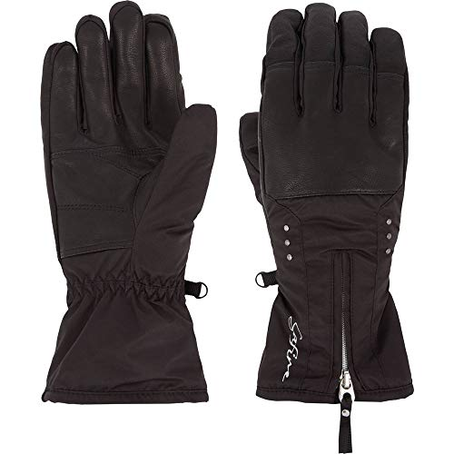 McKINLEY Damen Daria Handschuhe, Black Night, 7,5
