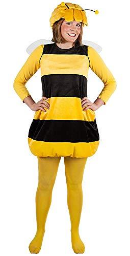 Biene Maja Kostüm für Erwachsene - Tierkostüm -Zweiteilig (M)
