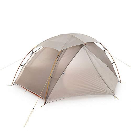 'N/A' Exterior Camping Tienda Ultraligera 20D Nylon Doble Capas X Estructura a Prueba de Nieve Superior 1-2 Personas Carpas