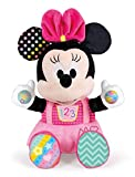 Clementoni- Disney Baby Minnie Gioca e Impara, Peluche parlante, Multicolore, 17304