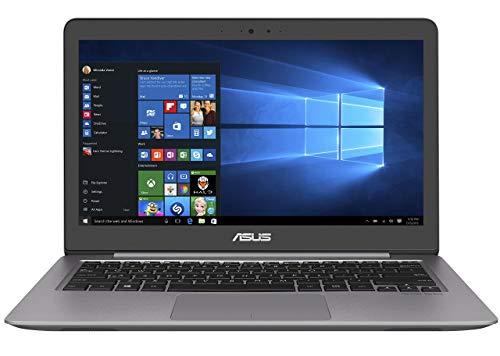 Asus Zenbook UX310UA-FC756T 33,7 cm (13,3 Zoll FHD matt) Laptop (Intel Core i7-7500U, 8GB RAM, 256GB SSD, Intel HD Graphics, Win 10) grau (Generalüberholt)