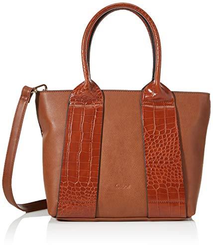 Gabor Tasche Damen, Runa, Cognac, 32x12x22 cm, Gabor Tasche Damen