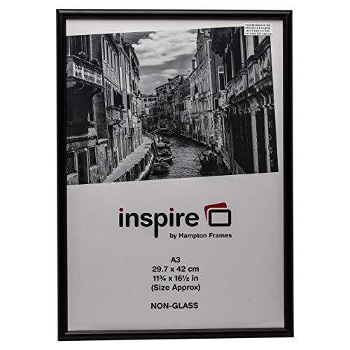 Álbum de fotos de la empresa A329,7x 42cm, madera de Glenwood Certificado foto Póster–Marco de fotos, color negro