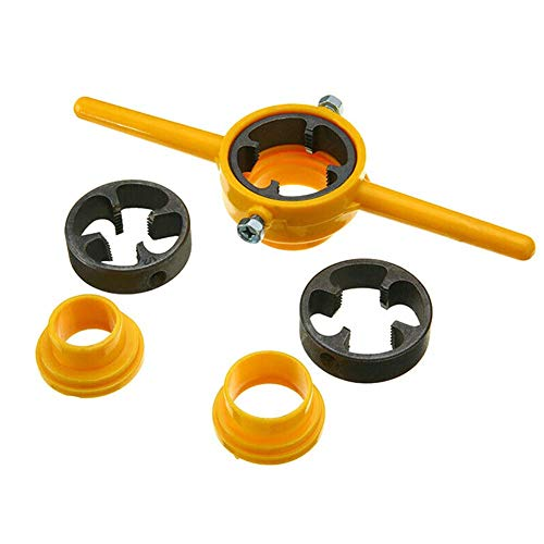 Ddbrand PVC Filettatura Maker Giallo Tubo Infila Set di Attrezzi 1/2