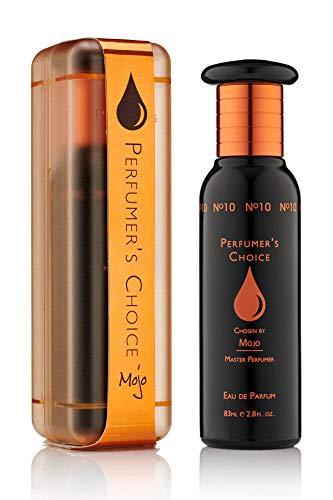 PERFUMER'S CHOICE No. 10 Mojo Eau De Parfum Ml Spray, Estimulante, Cálido Y Masculino, 83 Mililitro