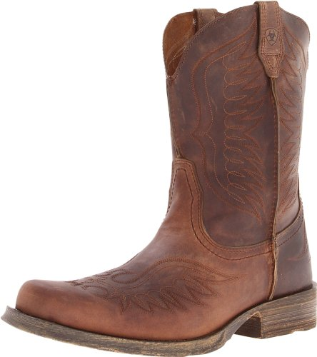 ARIAT mens Rambler Phoenix Western Boot, Distressed Brown, 12 US