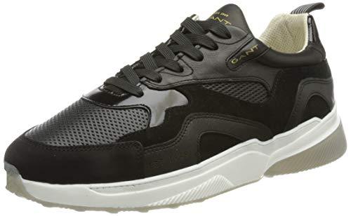 GANT Villagate Sneaker, Zapatillas Hombre, Negro, 42 EU