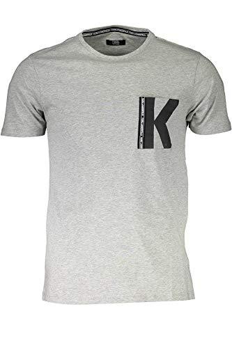 KARL LAGERFELD BEACHWEAR KL19MTS01 T-Shirt mit kurtzen Ärmeln Harren M