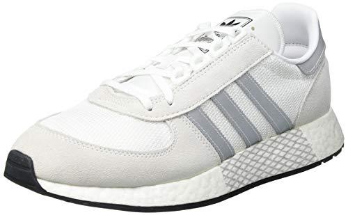 Adidas Marathon Tech, Zapatilla de Correr Unisex Adulto, Gris, 43 1/3 EU ⭐