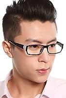 パソコン用メガネ PCメガネ ブルーライト 青色光カット 放射線カット 目の疲れ解消 目保護 めがね おしゃれ パソコン用眼鏡 ファッション眼鏡 メンズ レディース 眼鏡ケース付 DD