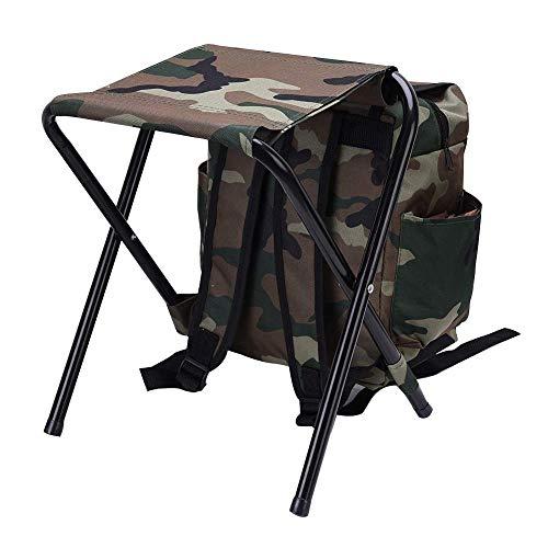 LHQ-HQ La caña de Pescar Camuflaje Estilo Multifuncional Puede ser Utilizado como una Mochila al Aire Libre y es Esencial for un fácil Transporte