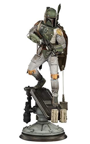 Sideshow Star Wars Episode V The Empire Strikes Back Boba Fett Premium Format Figure 1/4 Quarter Statue image