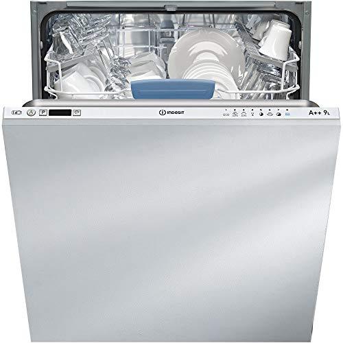 Indesit DIFP 66B+9 EU lavavajilla Totalmente integrado 14 cubiertos A++ - Lavavajillas (Totalmente integrado, Tamaño completo (60 cm), Botones, 1,28 m, Canasta, 14 cubiertos)