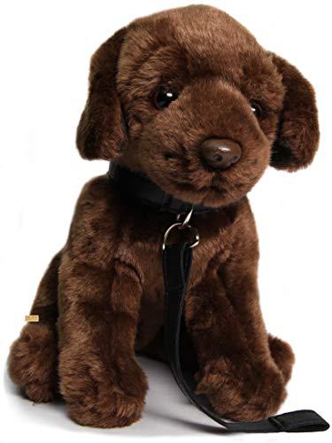 Zaloop Labrador braun ca. 30 cm Plüschtier Kuscheltier Stofftier Plüschhund 206